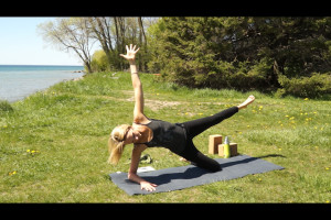 Post image for Aparigraha or Non-Hoarding a 45 Minute Yoga Sequence, Yoga with Melissa 178