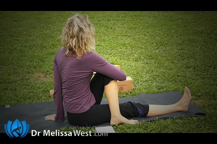 Advanced yoga class episode 190 of yoga with dr melissa west for Half lord of the fishes
