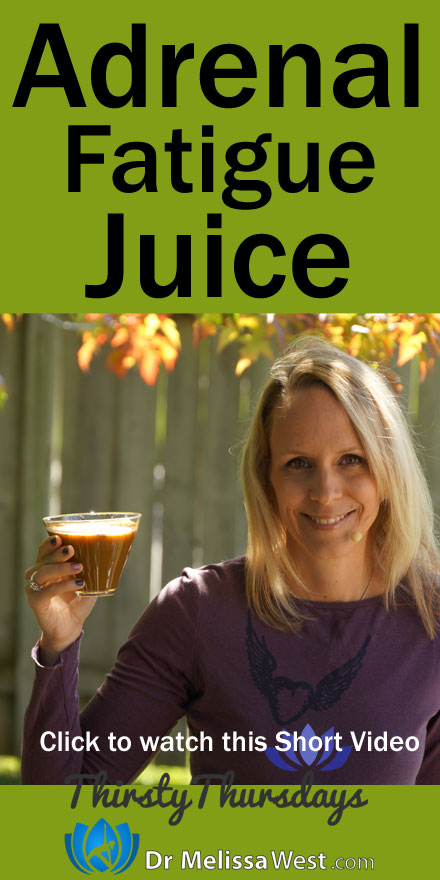 Adrenal Fatigue Juice Juicing for Adrenal Fatigue