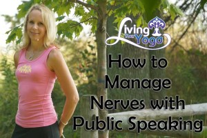 Post image for How to manage nerves with public speaking