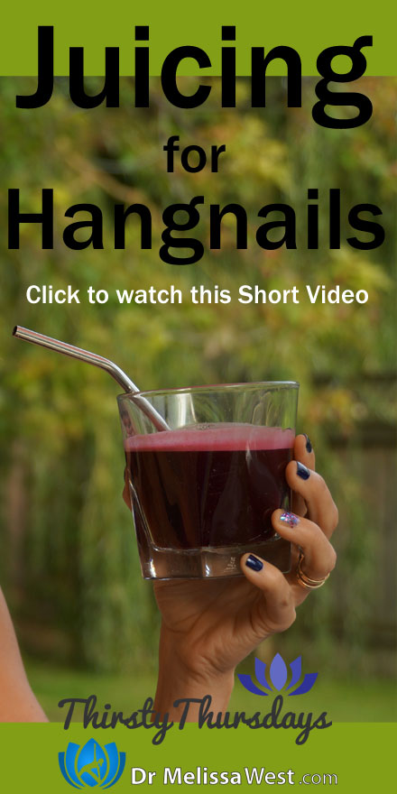 Juicing-for-Hangnails