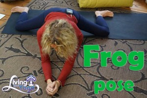 Post image for Frog pose and its benefits