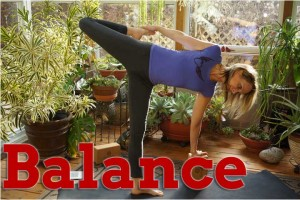 Post image for ​Yoga with Melissa 207​, 1 hr Hatha Yoga Practice for Balance, Benefits of Yoga Series