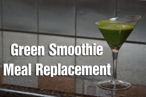 Post image for Easy Fast Green Smoothie for Meal Replacement