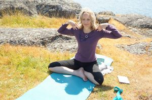Post image for Yoga with Dr. Melissa West 230: Eagle Pose or Garudasana, 50 min yoga class, Dhyana: The Eight Limbs of Yoga