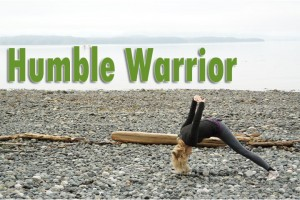 Post image for Where does my torso go in humble warrior?