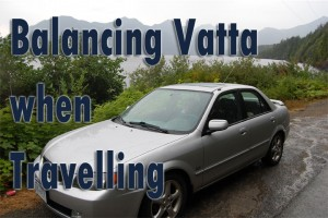Post image for Balancing Vatta when travelling