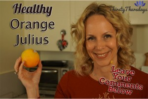 Post image for Healthy Orange Julius