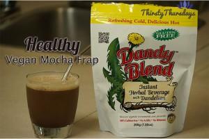 Post image for Healthier Thriftier Vegan Mocha Frappuccino