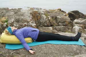 Post image for Restorative Yoga | 60 min Restorative Yoga with Bolster | Yoga with Dr. Melissa West 248