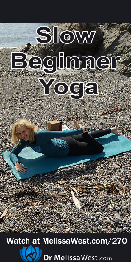 Slow yoga for beginners