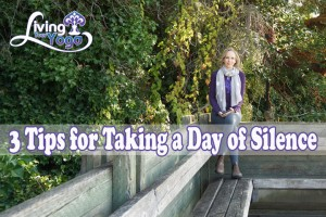 Post image for 3 Tips for Taking a Day of Silence