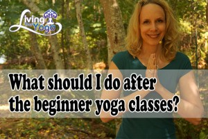 Post image for What should I do after the beginner yoga classes?