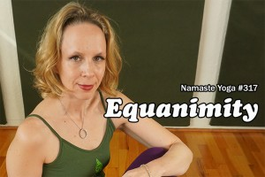 Post image for Yoga with Melissa 317 Awakening Your True Self Series: Equanimity