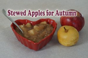 Post image for Warm Ayurvedic Stewed Apples for Autumn