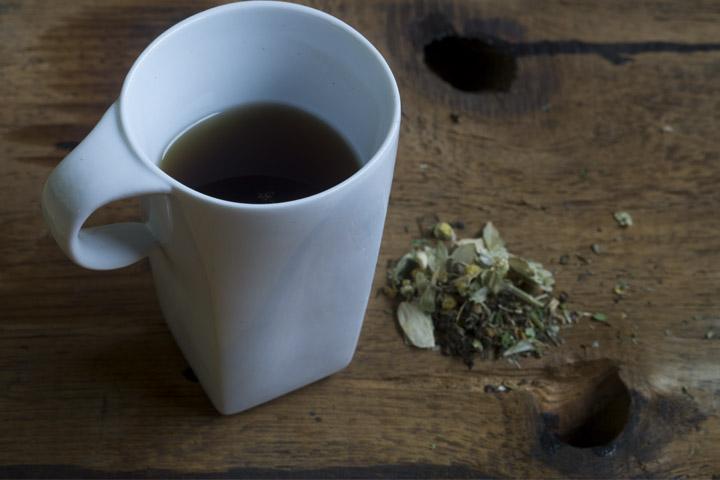 Chinese Herbs Tea Stress Anxiety
