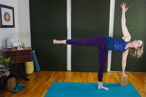 Post image for Yoga with Melissa 360 Yoga for Balance: Half Moon Balancing Pose