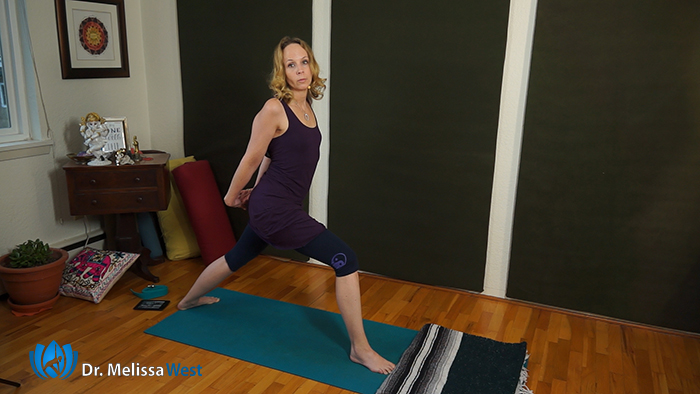 Yoga with Melissa 364, How to Balance in Dancer Pose