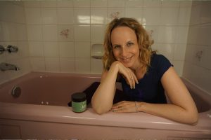 Post image for Yin Yoga in Aromatherapy Sea Salt Bath for Adrenal Fatigue