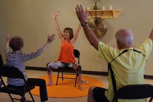 Post image for Yoga with Melissa 378 – Chair Yoga Class with Sherry Zak Morris – Sharing the Sunny Side of Life