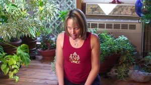 Post image for Yoga with Melissa 111 Vishnu Series: Lion's Pose or Simhasana