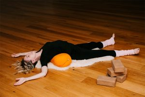 Post image for Yoga for PMS Bloating, Gentle Flow & Restorative Yoga with Special Guest Anita Goa