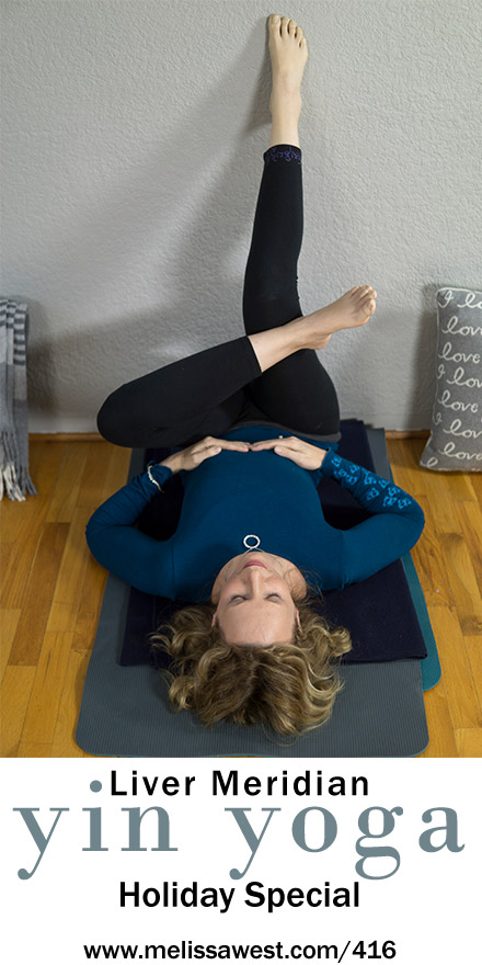 Holiday Special Yin Yoga for the New Year: Liver Meridian