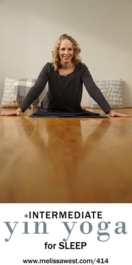 Intermediate Yin Yoga for Sleep   Heart Meridian   65 mins