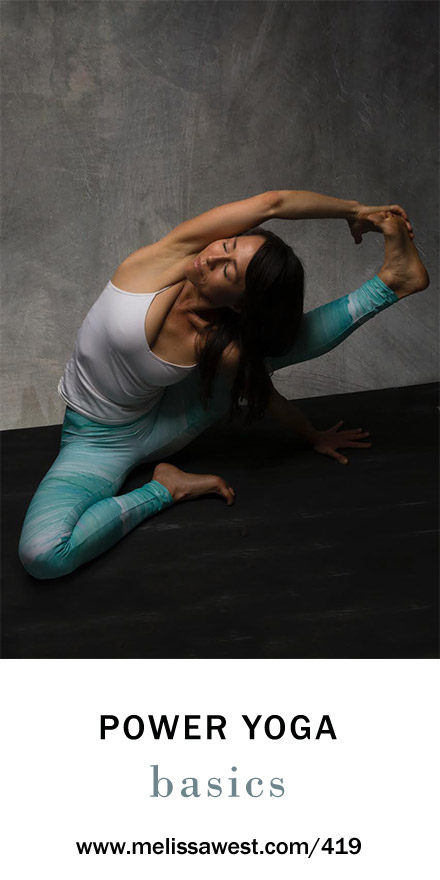 Power Yoga Basics with Michelle Goldstein – Yoga with