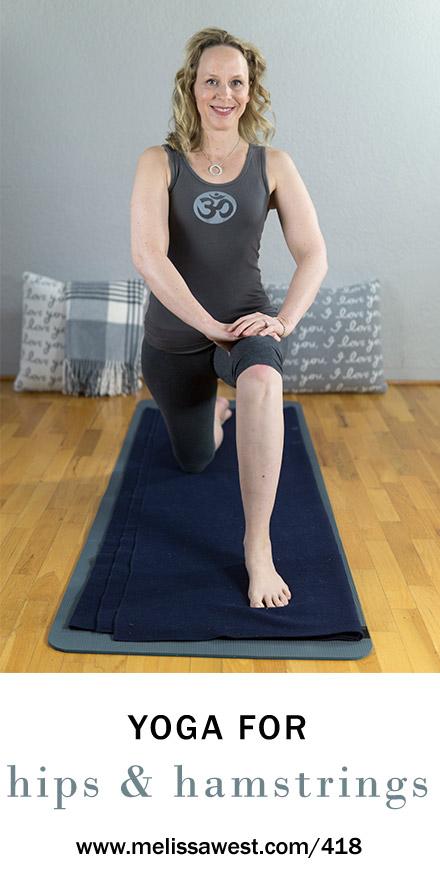 60 min Intermediate Yin Yoga for Hips and Hamstrings | Yoga