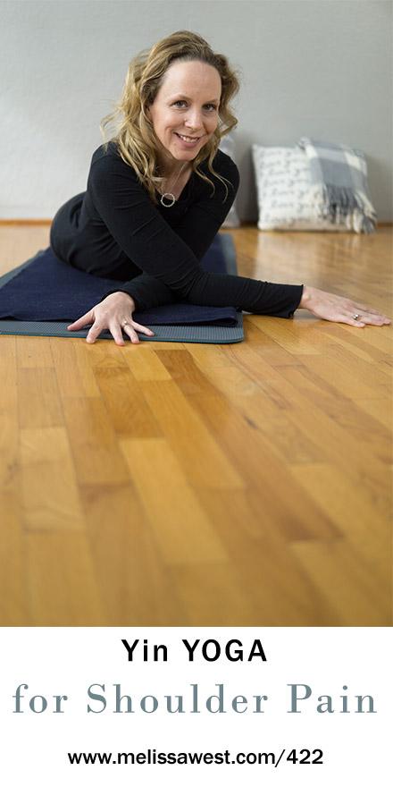 Yin Yoga for Tense and Stiff Shoulder Pain 60 min | Yoga ...