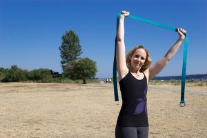 Post image for 3 Ways to Use a Yoga Strap for Shoulder Pain