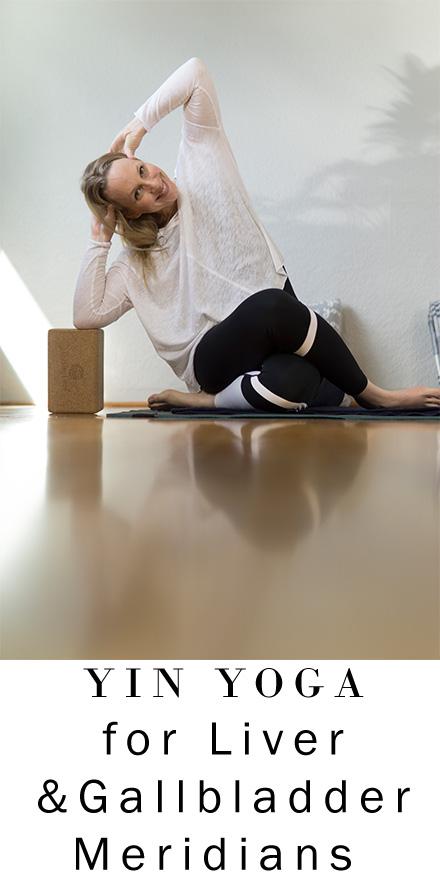 Yin Yoga for Liver and Gallbladder Meridians | Hips, Side