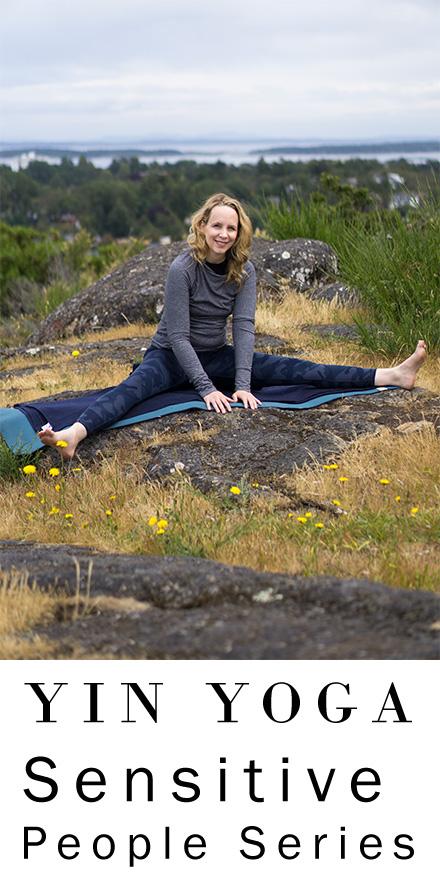 Yoga for Highly Sensitive People Overstimulation | Yin Yoga