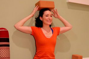 Post image for Yoga to Grow Taller at the Wall with Laura G