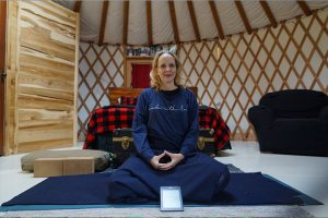 Post image for Yoga in a Yurt, Vancouver Island B.C.
